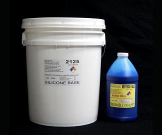 2125 Base w/ Brushable MM Thixo II Blue Fast Catalyst