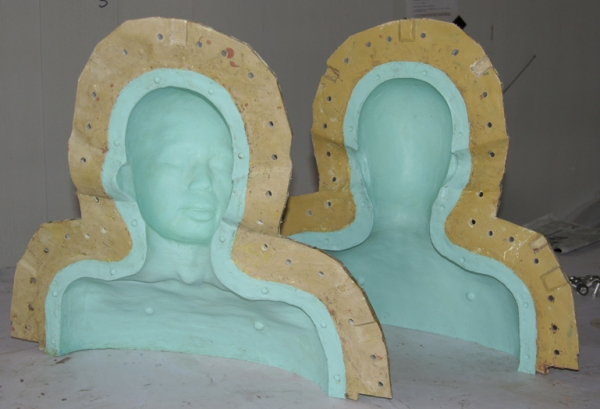 Fiberglass and 2125 mold