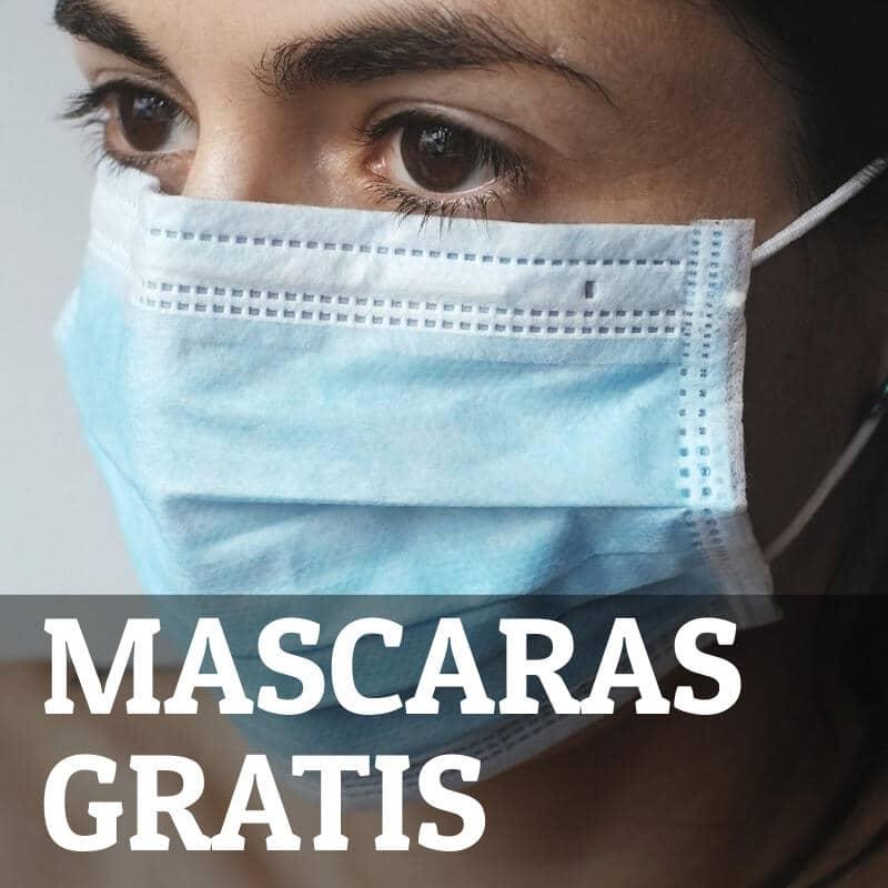 Mascaras gratis COVID-19