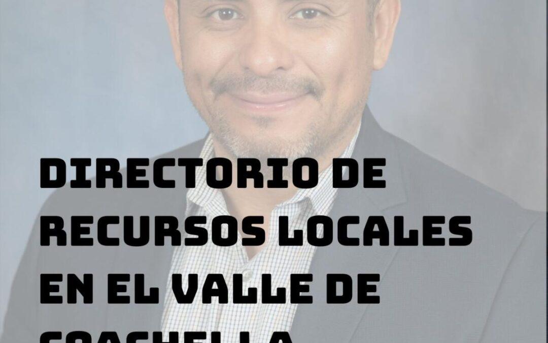 Directorio de Recursos para Coachella Valley