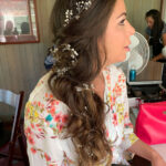 Beautiful Bridal Hair and Makeup at Tahoe Valhalla Wedding