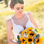 Tahoe Wedding Hair and Makeup for Beautiful Bride, Kyllie at Lake Tahoe Golf Course