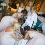 Bride and Bridal Party Hair and Makeup Lake Tahoe Wedding