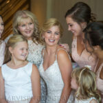 Up and Down Hairstyles and Classic Makeup for Lake Tahoe Weddings