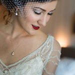 Elegant Makeup and Hair for Lake Tahoe Bride