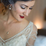 Elegant Bridal Makeup for Lake Tahoe Wedding