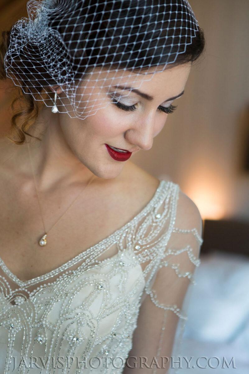 Elegant Bridal Makeup for Lake Tahoe Wedding