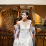 Beautiful Bride Hair and Makeup On-Site for Lake Tahoe Wedding