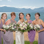 Bride and Bridal Party Makeup Artists On-Site for Lake Tahoe Weddings