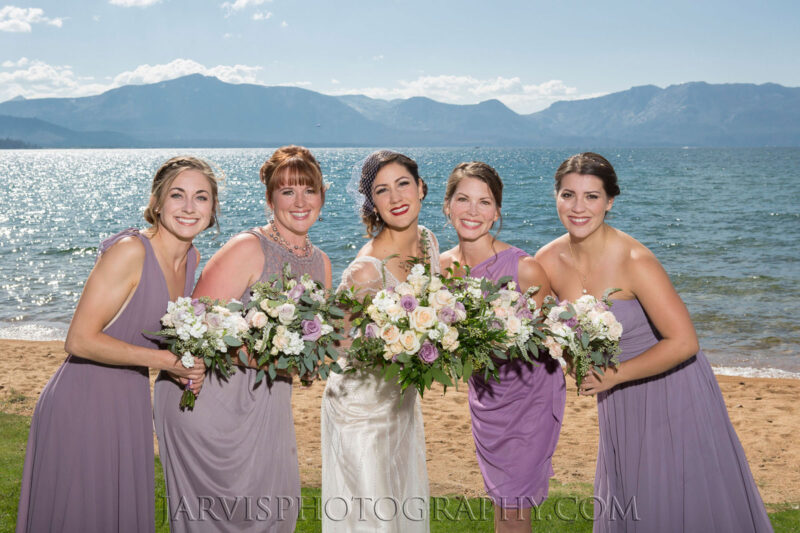 Tahoe Wedding Hair and Makeup for Brides and Bridal Party