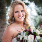 Beautiful Bridal Hair and Makeup for Wedding on Lake Tahoe Golf Course