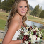 Lake Tahoe Golf Course Wedding Hair and Makeup