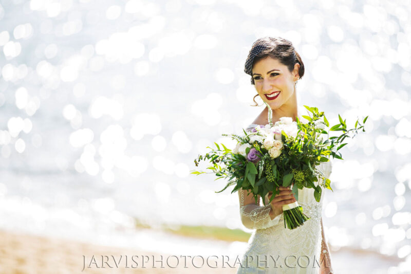 Beautiful Bridal Hair and Makeup for Wedding in Lake Tahoe