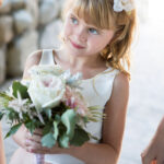 Tahoe Wedding Hair and Makeup for Flower Girl