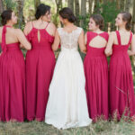 Wedding Hair Updo Style for Bride and Bridal Party in Lake Tahoe