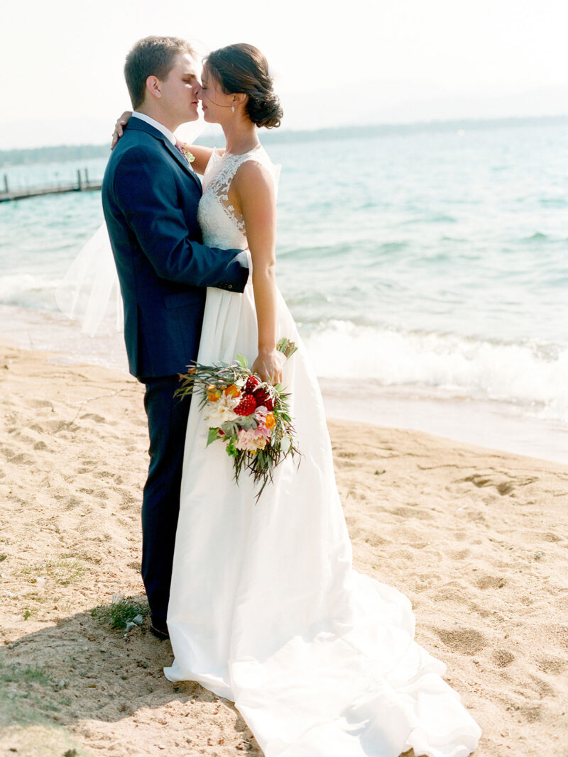 Lake Tahoe Wedding Hair and Makeup for Bride