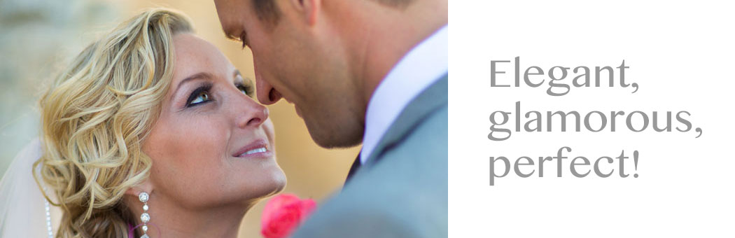 Bride and Bridal Party Makeup On-Site for Lake Tahoe Weddings