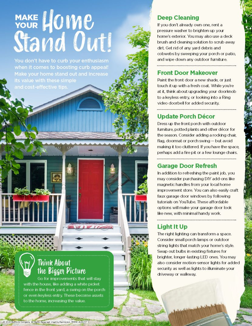 Tips for how to make your home stand out