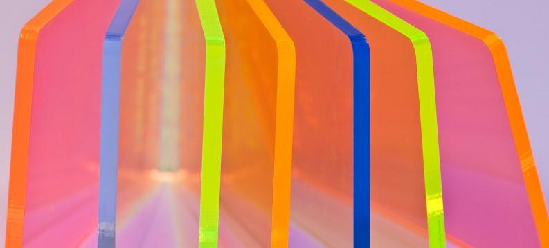 Florescent Acrylic Glass
