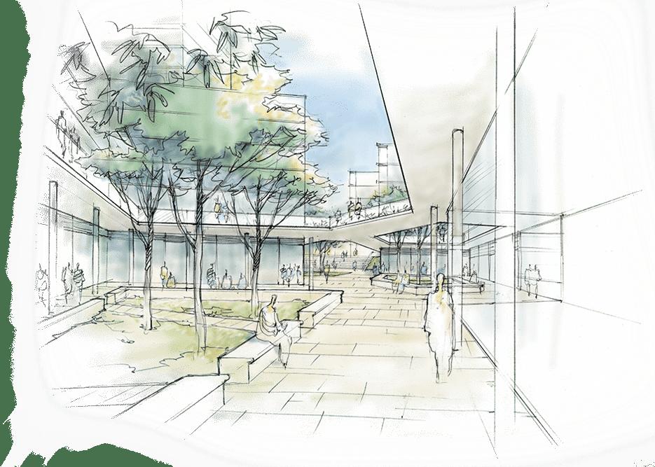 construction sketch