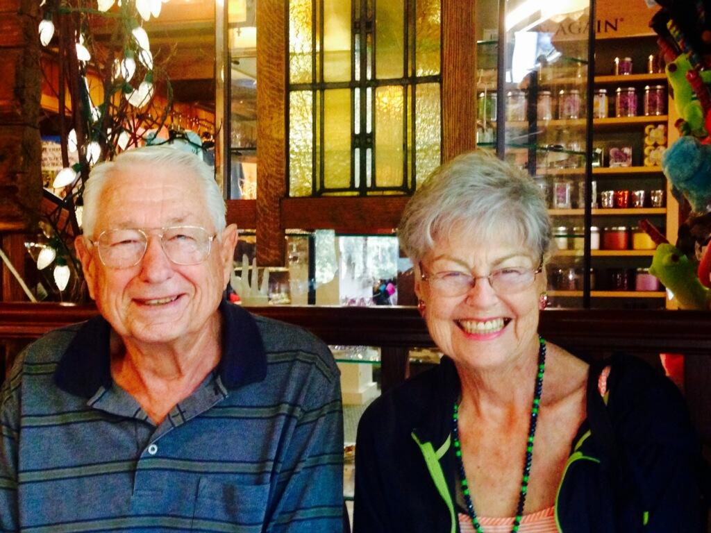 Roberta and June