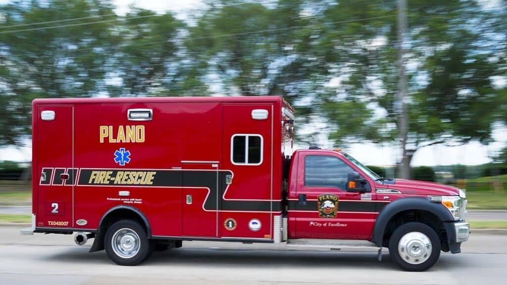 City of Plano Fire Rescue Truck