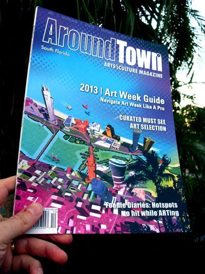 Art Basel Magazine Cover