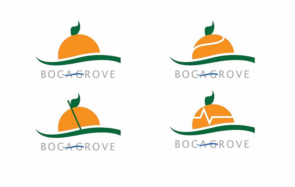 Logos for Boca Grove Golf and Tennis Club