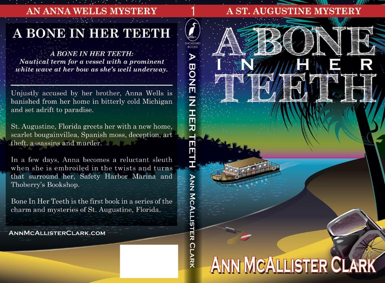 Bone in Her Teeth book cover illustration