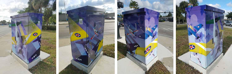 airport street art
