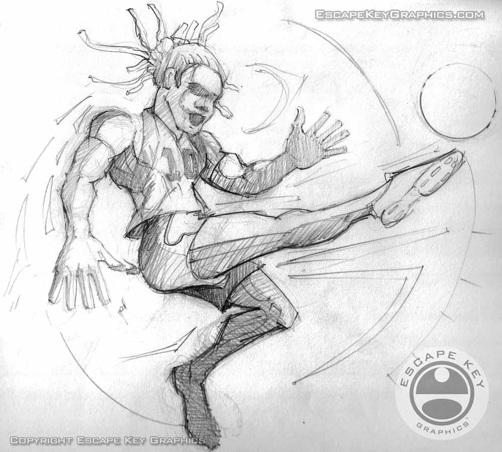 sports sketch