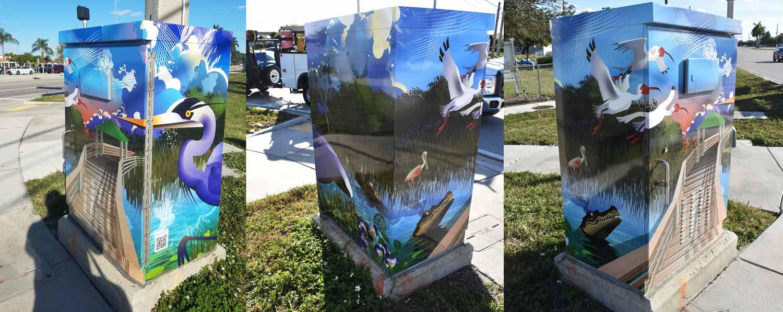 Wetlands street art