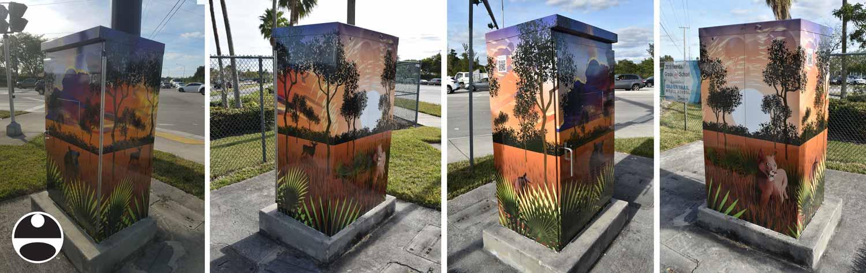 wilderness street art
