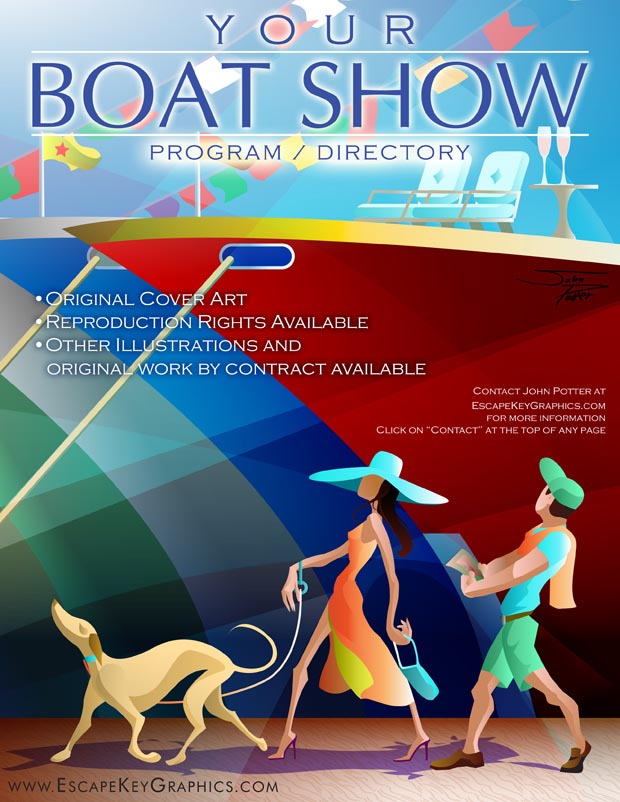 Boat Show Cover Art