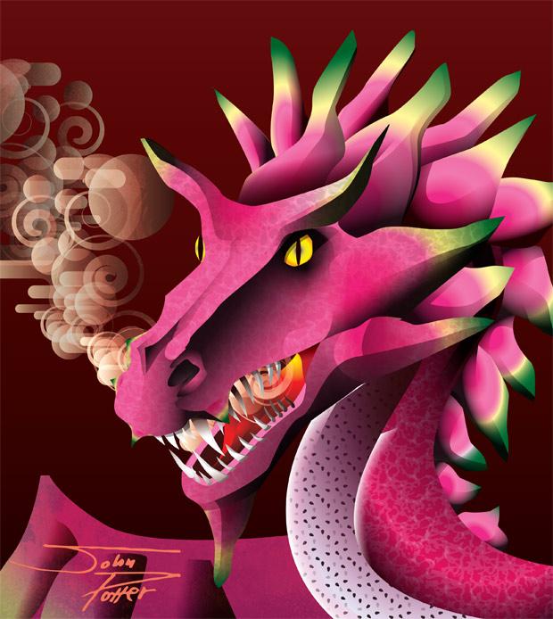 Dragon Fruit Dragon
