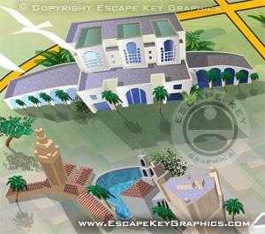 FIU South Florida Map - Coral Gables