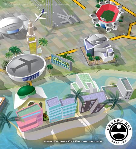 FIU South Florida Map