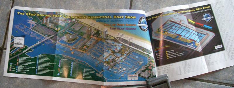 Map as it appears in the program