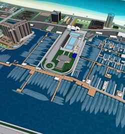 2013 Fort Lauderdale International Boat Show broker sign