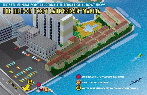 Hilton Marina - Marina Maps