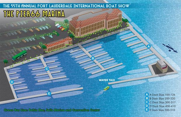 Pier 66 Marina - Marina Maps