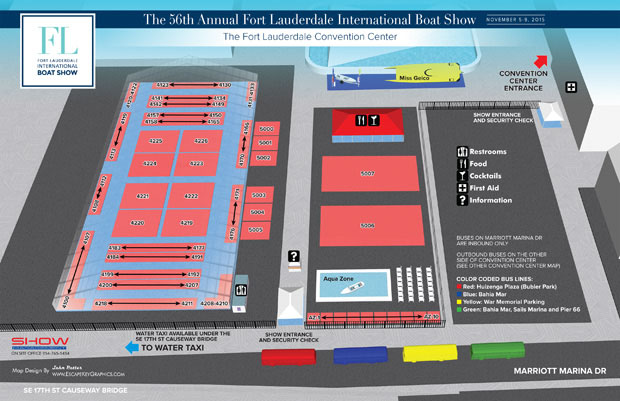 Convention Center Map
