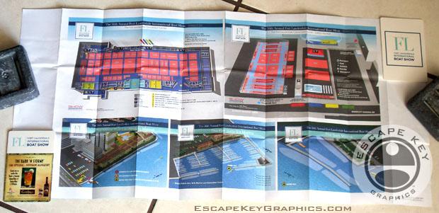 Folding Map Designs