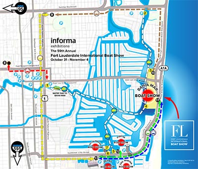 FLIBS Parking Map