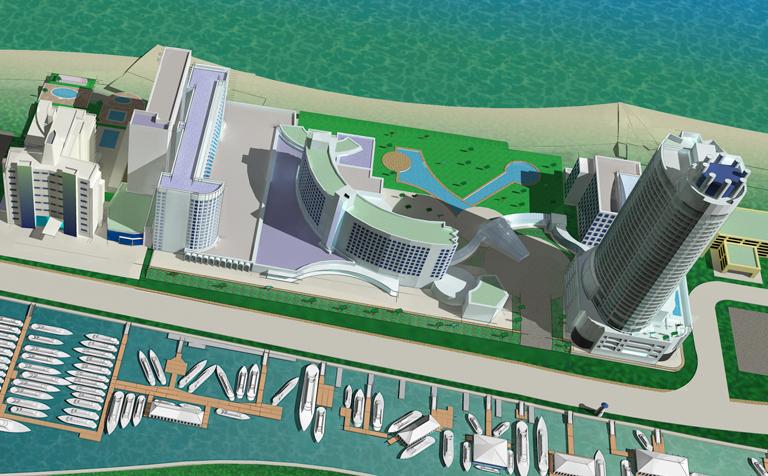 Miami Yacht and Brokerage Show in Miami Beach 2013 map