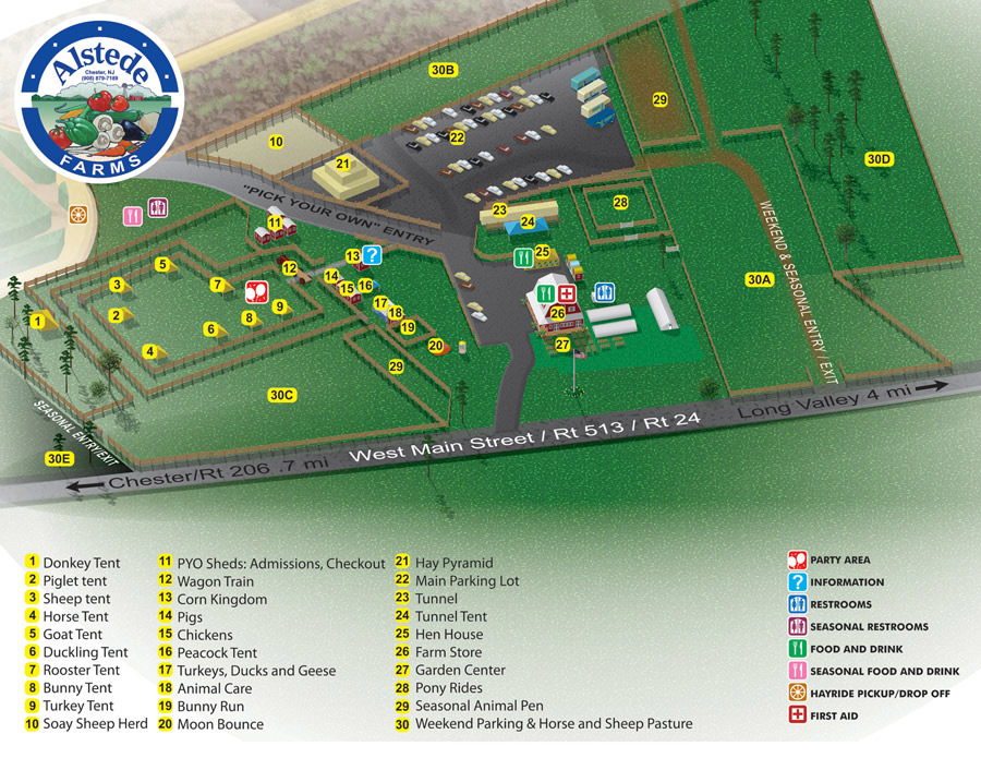 Agribusiness Illustrated Map