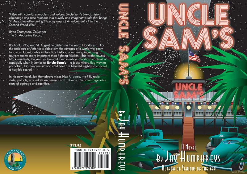 Uncle Sam's book cover illustration