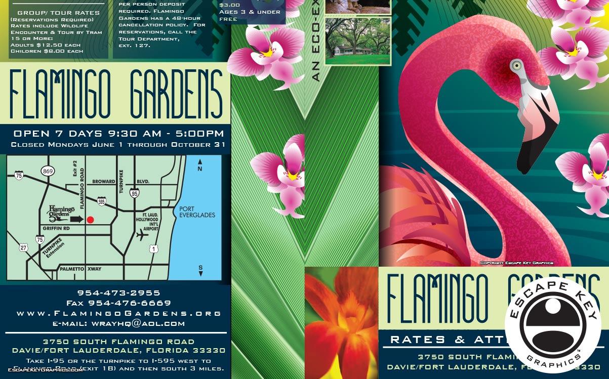 Rates & Attractions Brochure Design