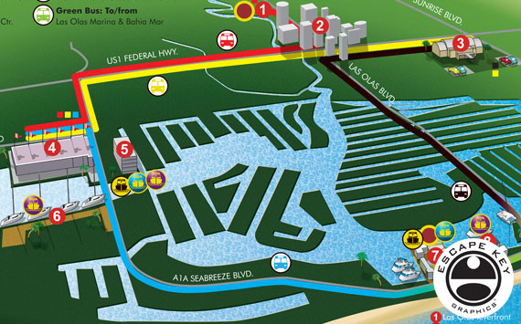 Illustrated Transit Map