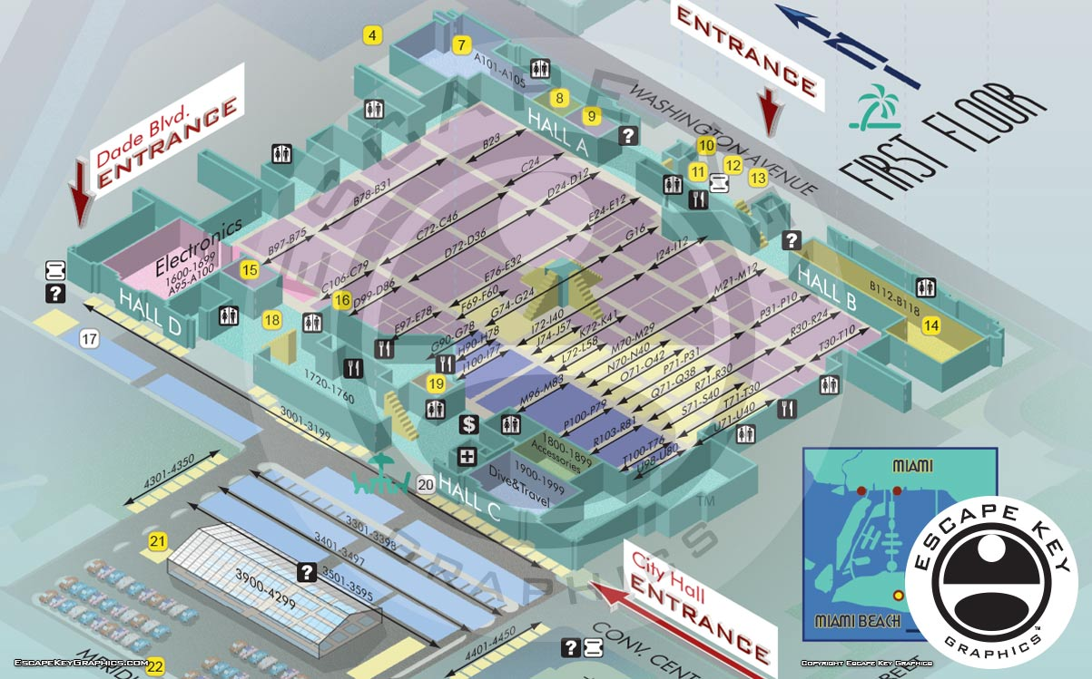 Boat Show Illustrated Maps